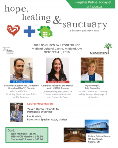 Fall 2016 Conference Flyer